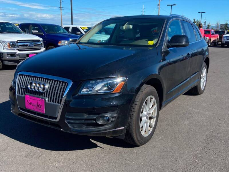 2011 Audi Q5 for sale at Snyder Motors Inc in Bozeman MT