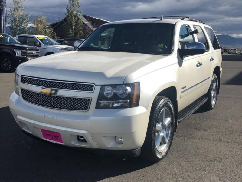 2011 Chevrolet Tahoe for sale at Snyder Motors Inc in Bozeman MT