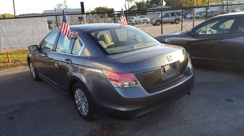 2010 Honda Accord LX 4dr Sedan 5A - Pasadena TX