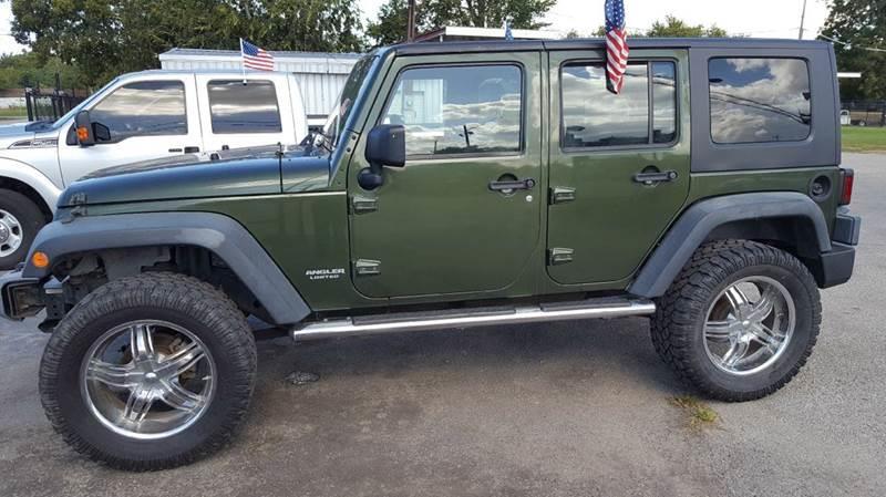 2008 Jeep Wrangler Unlimited  - Pasadena TX