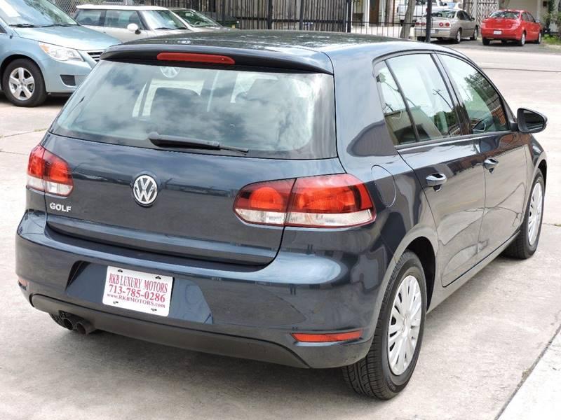 2012 Volkswagen Golf 2.5L PZEV 4dr Hatchback 6A - Houston TX
