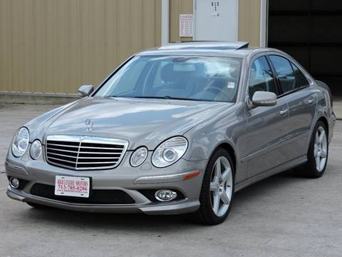 Worksheet. 2009 MercedesBenz EClass For Sale  Carsforsalecom