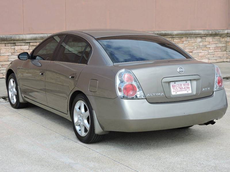 2005 Nissan Altima 2.5 S 4dr Sedan - Houston TX