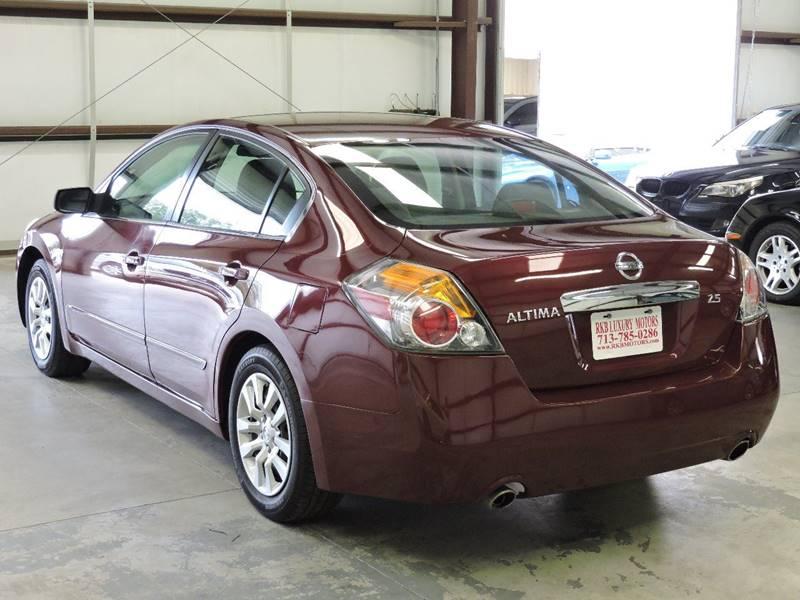 2012 Nissan Altima 2.5 S 4dr Sedan - Houston TX