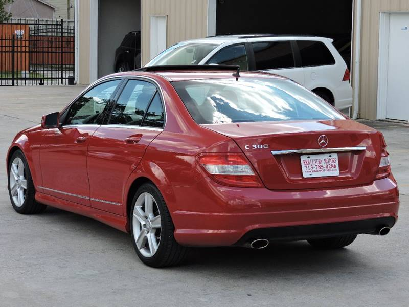 2010 Mercedes-Benz C-Class C300 Luxury 4dr Sedan - Houston TX