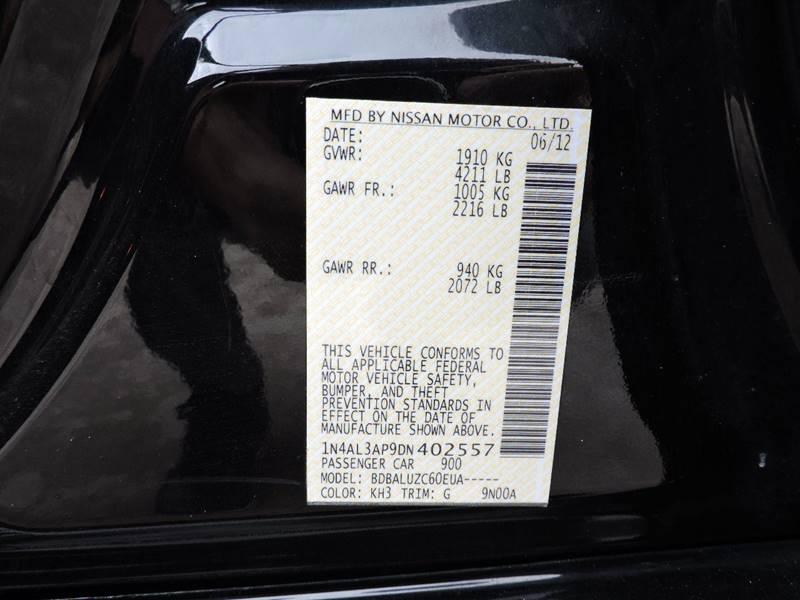 2013 Nissan Altima 2.5 SV 4dr Sedan - Houston TX
