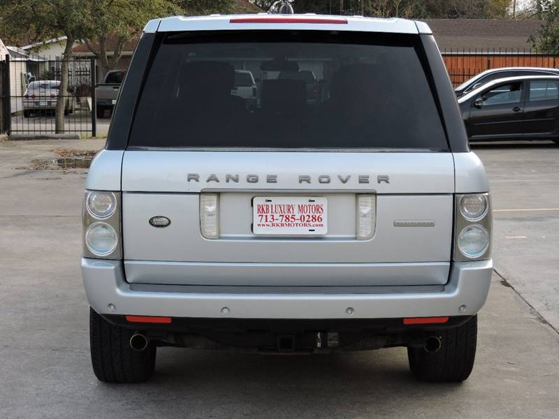 2006 Land Rover Range Rover Supercharged 4dr SUV 4WD - Houston TX
