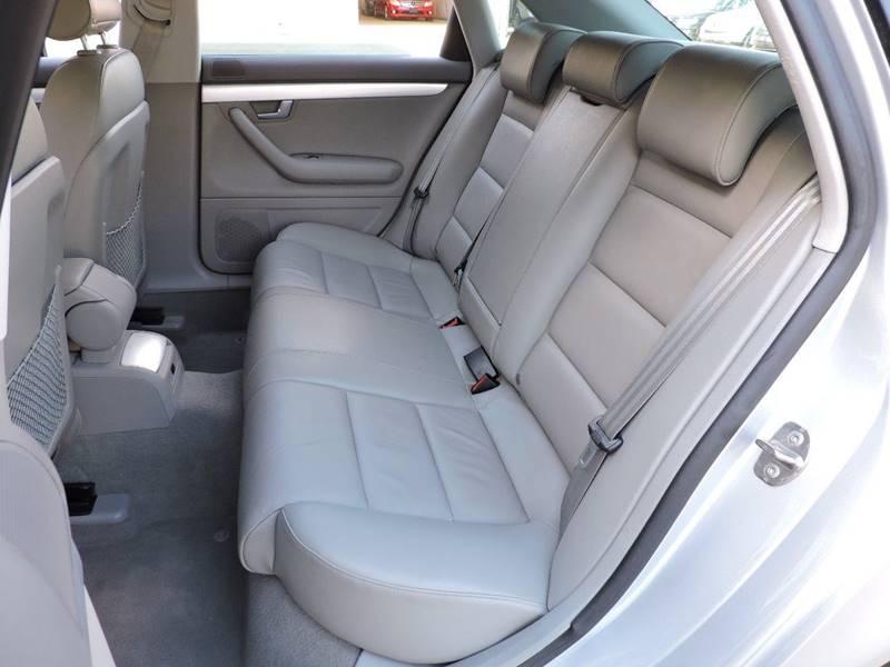 2008 Audi A4 2.0T 4dr Sedan (2L I4 CVT) - Houston TX