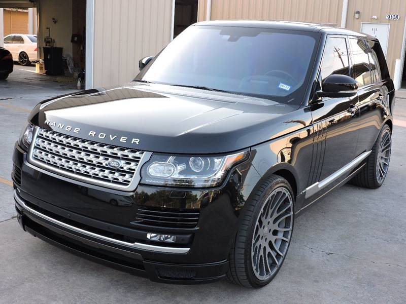 2016 Land Rover Range Rover AWD Supercharged 4dr SUV - Houston TX