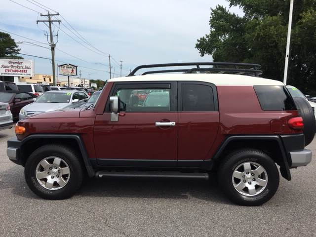 2008 Toyota FJ Cruiser 4x4 4dr SUV 6M - Virginia Beach VA