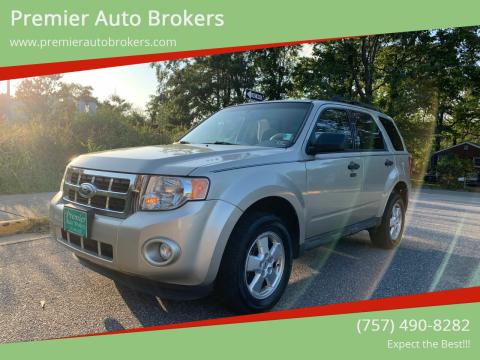 2012 Ford Escape for sale at Premier Auto Brokers in Virginia Beach VA
