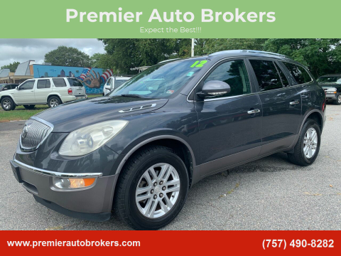 2012 Buick Enclave for sale at Premier Auto Brokers in Virginia Beach VA