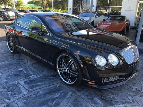 2005 Bentley Continental GT for sale in Pompano Beach, FL