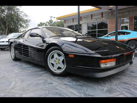 1990 Ferrari Testarossa for sale in Pompano Beach, FL