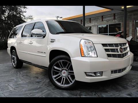 2012 Cadillac Escalade ESV for sale in Pompano Beach, FL