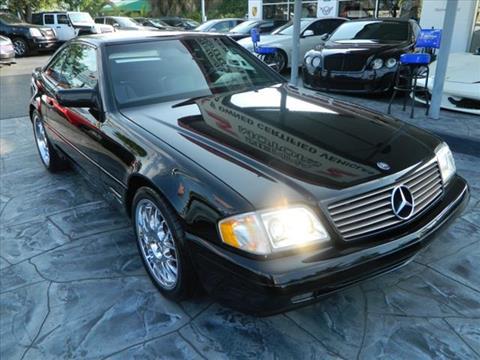 1997 Mercedes-Benz SL-Class for sale in Pompano Beach, FL