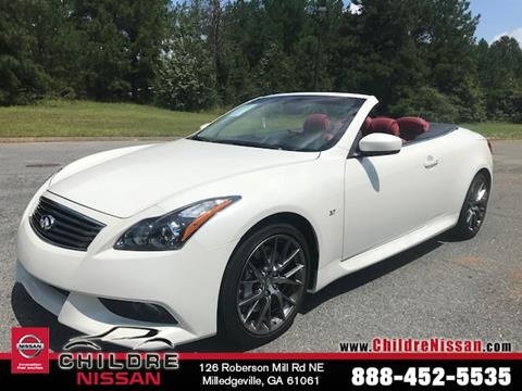 Infiniti Q60 Convertible For Sale In Georgia Carsforsale