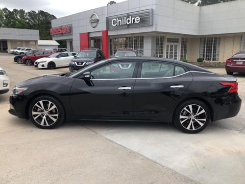 2018 Nissan Maxima for sale in Milledgeville, GA