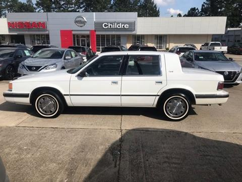 1991 Dodge Dynasty for sale in Milledgeville, GA