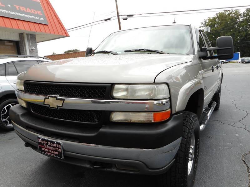 2002 Chevrolet Silverado 2500HD For Sale At Super Sports U0026 Imports In  Jonesville NC
