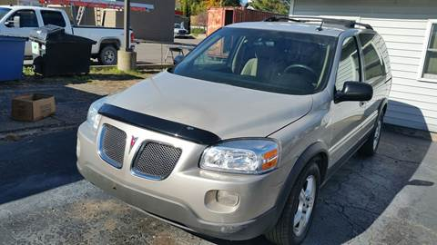 2009 Pontiac Montana SV6 for sale in Albion, MI