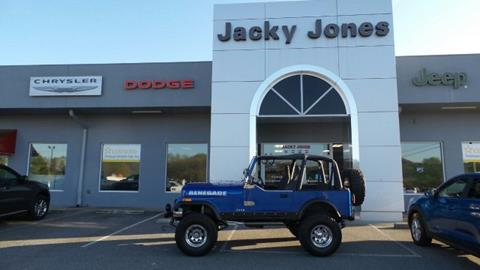 1986 Jeep CJ-7 for sale in Hayesville, NC