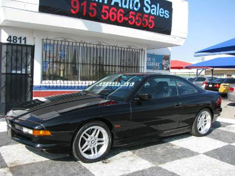 1995 BMW 8 Series for sale at Franklin Auto Sales in El Paso TX