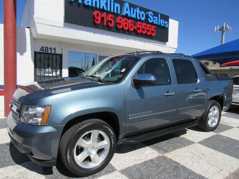 Cars For Sale In El Paso Tx >> Franklin Auto Sales Used Cars El Paso Tx Dealer