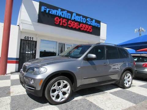 2008 BMW X5 for sale at Franklin Auto Sales in El Paso TX