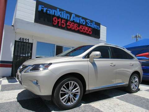 lexus for sale in el paso tx