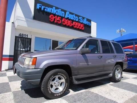 1996 Jeep Grand Cherokee for sale at Franklin Auto Sales in El Paso TX