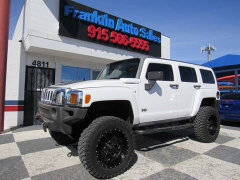 2007 HUMMER H3 for sale in El Paso, TX