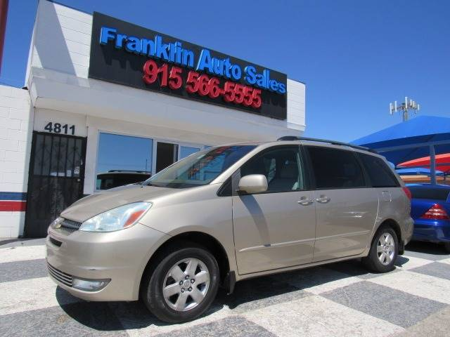 2004 Toyota Sienna For Sale At Franklin Auto Sales In El Paso TX