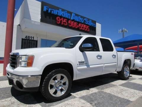 2009 GMC Sierra 1500 for sale at Franklin Auto Sales in El Paso TX