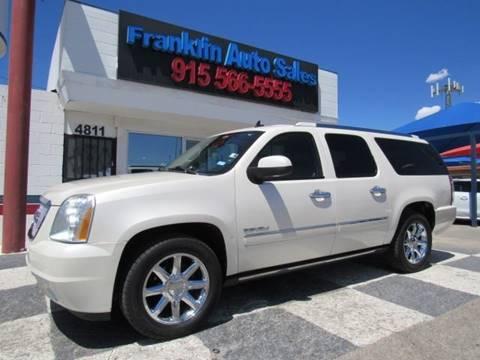 2010 GMC Yukon XL for sale at Franklin Auto Sales in El Paso TX