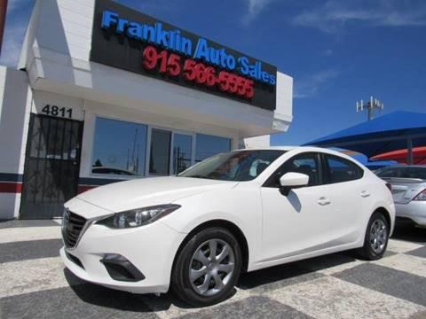 2015 Mazda MAZDA3 for sale at Franklin Auto Sales in El Paso TX