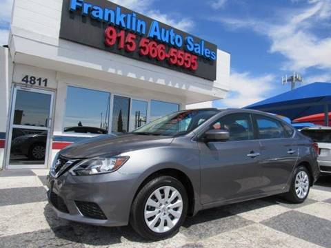 2019 Nissan Sentra for sale at Franklin Auto Sales in El Paso TX
