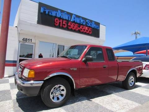 2001 Ford Ranger for sale in El Paso, TX