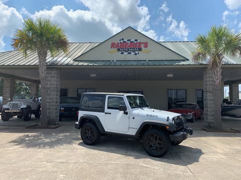 2015 Jeep Wrangler for sale in Lafayette, LA