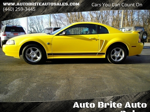 2004 Ford Mustang For Sale In Perry Oh