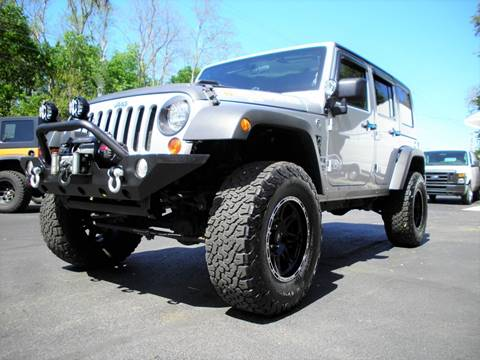 2010 Jeep Wrangler Unlimited for sale in Perry, OH