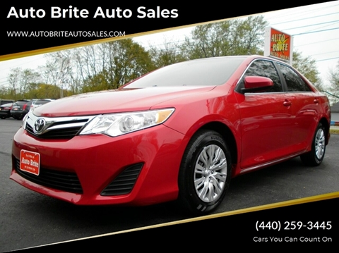 2013 Toyota Camry for sale in Perry, OH
