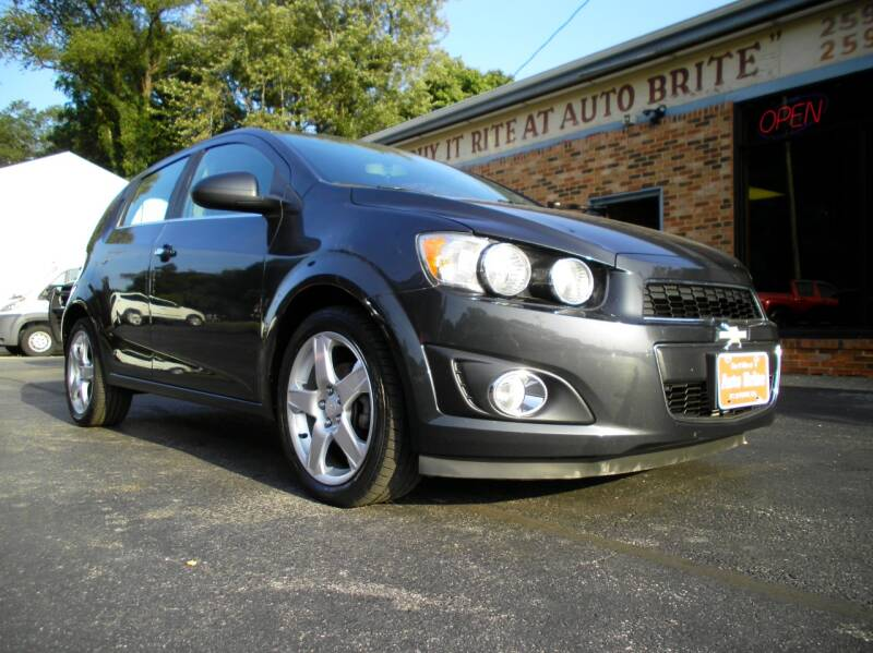2015 Chevrolet Sonic LTZ Auto 4dr Hatchback - Perry OH