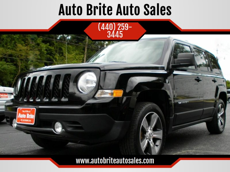 2016 Jeep Patriot 4x4 High Altitude 4dr SUV - Perry OH