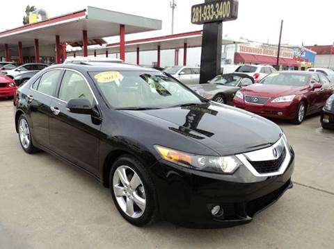 2013 Acura TSX for sale in Houston, TX