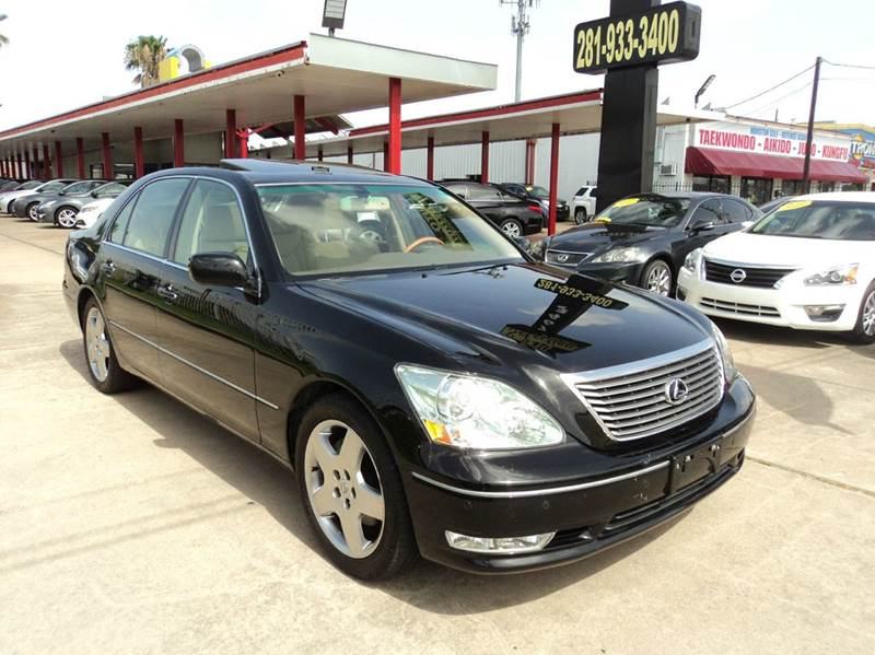 2006 Lexus Ls 430 Base 4dr Sedan In Houston TX - Auto Selection of