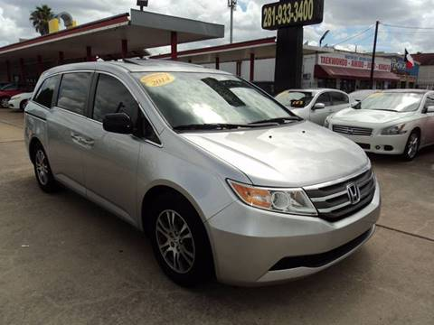 2013 Honda Odyssey for sale in Houston, TX
