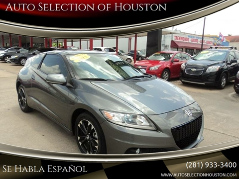 2015 Honda CR-Z for sale in Houston, TX