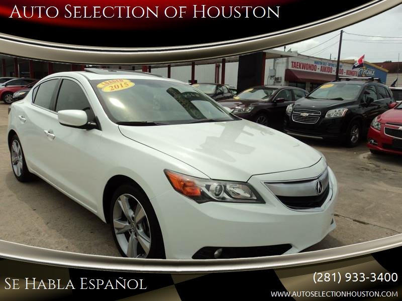2015 acura ilx 2 0l 4dr sedan w technology package in houston tx auto selection of houston. Black Bedroom Furniture Sets. Home Design Ideas