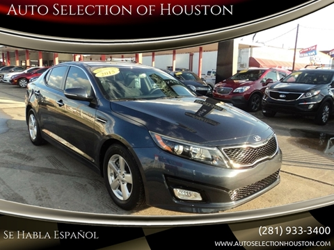 2015 Kia Optima for sale in Houston, TX